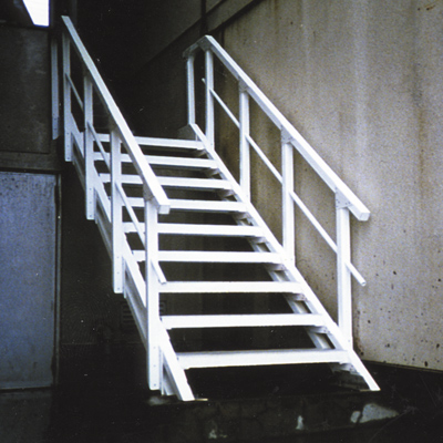 FRP step and ladder